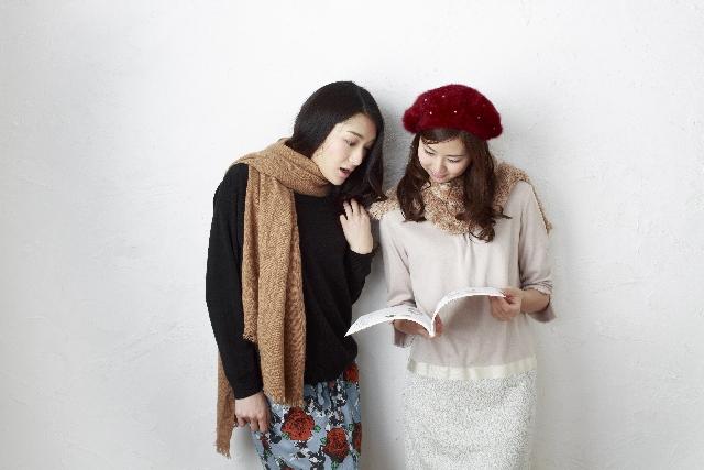 女友達ファッション