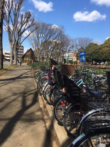 駒沢公園西口駐輪場