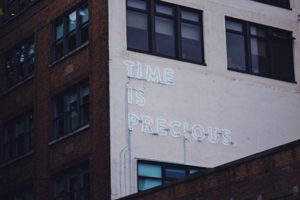 時間は貴重です