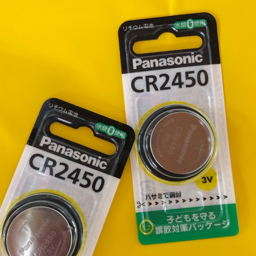 ボタン電池CR2450