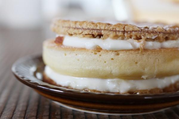 パンケーキパイ・レモンクリームチーズ