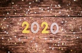 2020の文字
