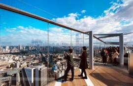 渋谷スクランブルスクエア展望台「SHIBUYASKY」
