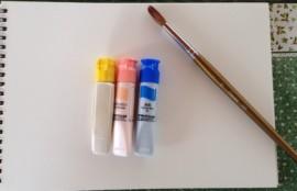 絵の具と画用紙